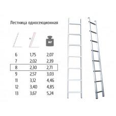 Лестница односекционная Most 8ст