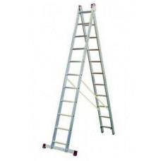 Лестница индустриальная 2-секционная 2*8
