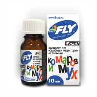 Флай 10мл от личинок комаров и мух JOY