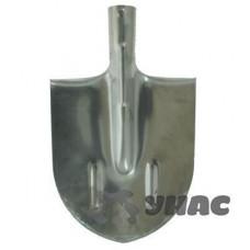Лопата штыковая остроконечная НЕРЖ 1,5 мм с рёбрами жёсткости ЛКО