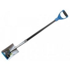 Лопата совковая 1,2м, марганц. закален. сталь, черенок фибергласс, рукоятка GALS6-073 Green Apple