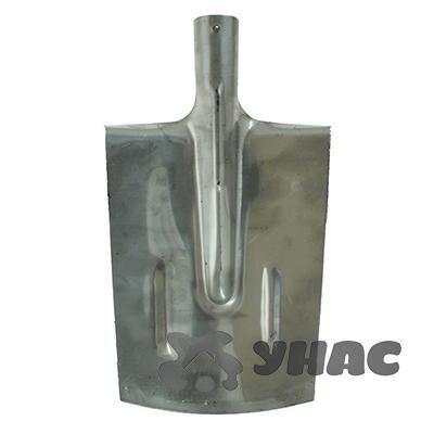 Лопата штыковая копальная прямая НЕРЖ 1,5 мм с рёбрами жёсткости ЛКП