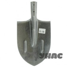 Лопата штыковая остроконечная из рельсовой стали с р/ж 850гр 1,5мм S506-2A