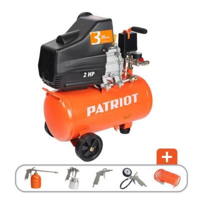 Компрессор Patriot EURO 24-240K 5 предметов