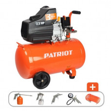 Компрессор Patriot EURO 50-260K 5 предметов