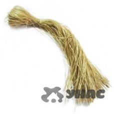 Мочалка натуральная из мочала, длина 1 метр, вес 50 гр