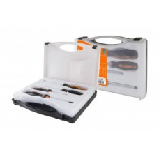 TDM Алмаз набор отв, 4 пр. SL3x75, SL5x100, PH1x75, PH2x100, магнит, пласт.чемодан SQ1013-0202