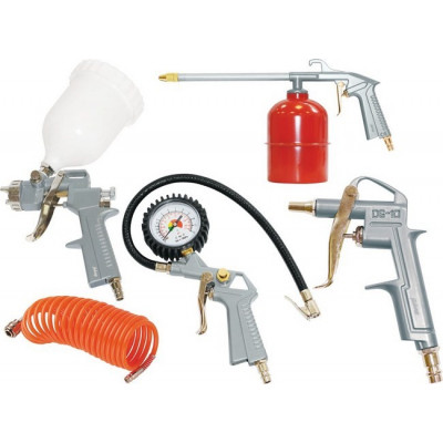 Набор пневмоинструмента 5 предметов верхний бачок