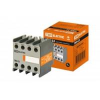 TDM ПКН-22 приставка контактная (доп. контакты 2з+2р) SQ0708-0041