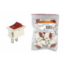 TDM выкл-кнопка СУ для эл/приборов YL-211-04 10А перекл клав на 2 пол (1з) (цена за шт) SQ0703-0022