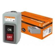 TDM ВКН-316 выключатель кнопочный с блокировкой 3Р 16А 230/400В IP40 SQ0716-0002