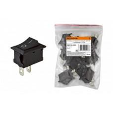 TDM выкл-кнопка СУ для эл/приборов YL-211-05 10А перекл клав на 2 пол (1з) (цена за шт) SQ0703-0023