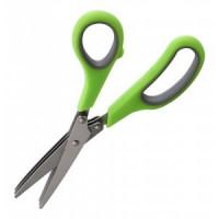Ножницы кухонные для зелени KS-03, 19см, 3 лезвия, нерж сталь Mallony 920101