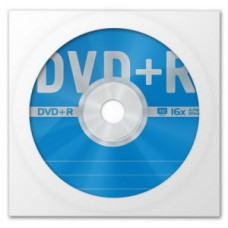 DVD+R Data Standard 16x, 4.7Gb в бумажном конверте с окном (цена за диск)