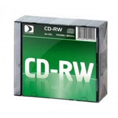 К/д Data Standard CD-RW80/700MB 12x 10 Slim (цена за диск)