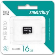 Ф/к MicroSDHC 16GB Class10 SmartBuy без адаптера