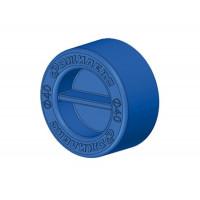 Заглушка Джилекс для трубы ПНД PE 25 мм