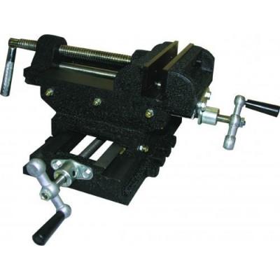Тиски машинные крестовые 75 мм