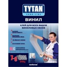 Tytan Euro-line Винил клей для всех видов виниловых обоев (с индикатором) 250г, арт.7017169