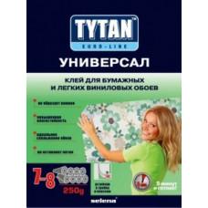 Tytan Euro-line Универсал клей для бумажных и легких виниловых обоев 250г, арт.7017152