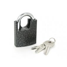 PALLADIUM 507F-50 Замок навесной, Корпус Ш50*В60мм, Дужка d=8мм, В26мм, 3 англ.ключа, чугун (BL)