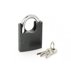 PALLADIUM 507F-60 Замок навесной, Корпус Ш60*В70мм, Дужка d=10мм, В32мм, 3 англ.ключа, чугун (BL)