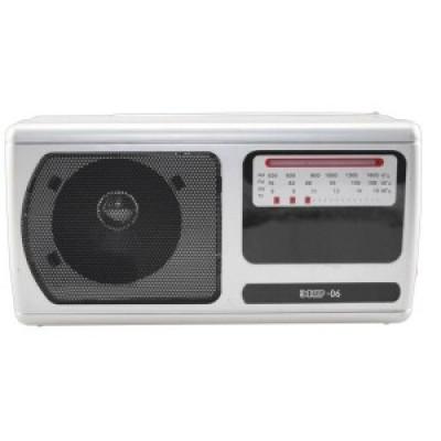 """Радиоприемник """"Эфир 06"""", УКВ/СВ/КВ, 2xR20, 220V, 21.8х11х7.6 см."""
