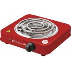 Электроплитка ENERGY EN-902R, 1 конфорка, спираль (ТЭН) 1кВт, красная 158974