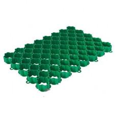 Газонная решетка 60*40*6 зеленая АЛЕАНА