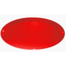 Поднос круглый, d=32см, пластик, красный ПЦ1633КР Plastic Centre