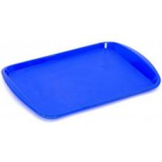 Поднос 36,5*25,5см, синий, РТ9214 Plast team