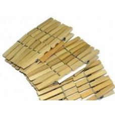 Прищепки бельевые, деревянные, 14шт/уп, цена за уп, арт.Н-1-002 AST