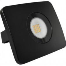 Ecola прожектор светодиодный 20W 6000 6K 120x95x36 тонкий черный IP65 JPBD20ELB
