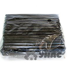 Расческа NA676 (цена за 30шт) пластиковая мужская черная