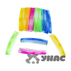 Расческа NA678 (цена за 30шт) пластиковая мужская цвет