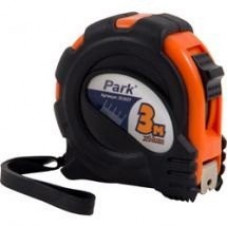 Park Рулетка 3мx16мм, фиксатор, прорезин. корпус TM27-3016, 353027