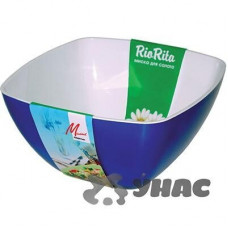 Салатник Двухцветный 160*160 мм МилихПластик02016