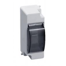 EKF Бокс пластиковый КМПн 1/2 навесной, полистирол, возм. опломбир. с дверцей pbm40-nk-2