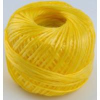 Шпагат полипропиленовый желтый 200м (клубок)