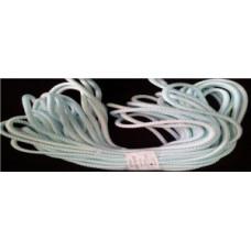 Веревка хозяйственная 008 d=8мм 20м ПП (8+6)-прядн. с сердечн. (двухслойн), цветная
