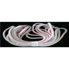 Веревка хозяйственная 010 d=10мм 10м ПП (9+9)-прядн. с сердечн. (двухслойн), цветная