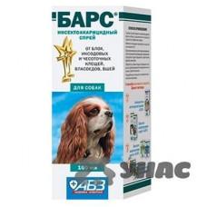 Барс спрей для собак 100 мл АВ766