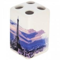 Держатель для зубных щеток Париж, керамика, TBH-P, 2909 Рыжий Кот