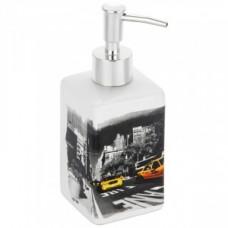 Дозатор для жидкого мыла Нью-Йорк, керамика, DIS-NY, 2899 Рыжий Кот