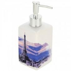 Дозатор для жидкого мыла Париж, керамика, DIS-P, 2908 Рыжий Кот