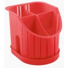 Сушилка для столовых приборов 4х-секц., лимон, пластик ПЦ1550ЛМН Plastic Centre