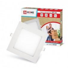 ASD/inHome светильник встраиваемый светодиодный даунлайт 3W(210lm) 4000K 4K 86(80)x23 квадрат белый IP40 SLP-eco 7144