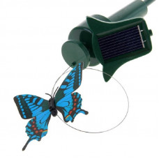 ЭРА SL-PL42-BTF декор садово-парковый на солн.батарее, элемент бабочка (пластик) h=42см зеленый 6004