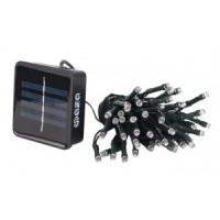 ФАЗА SLR-G01 светильник на солнечной батарее 50LED белый, гирлянда 7 метров, 2 режима