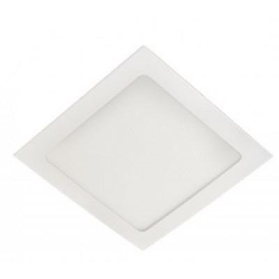 Ecola светильник встраиваемый светодиодный даунлайт 12W 6500K 6K квадрат 170(155)x20 DSRD12ELC